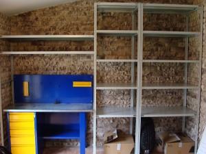 Металлические стеллажи для гаража