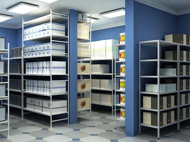 Архивные стеллажи для склада