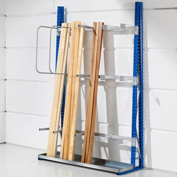 Стеллажи для вертикального хранения продукции